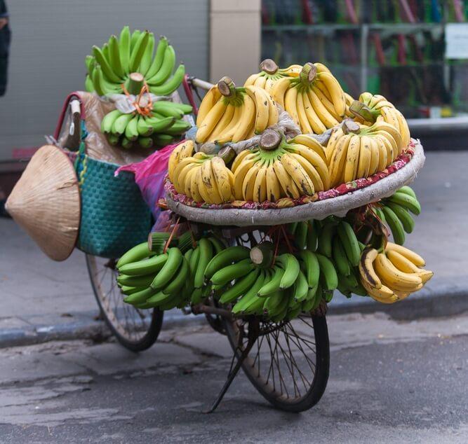 vélo bananes