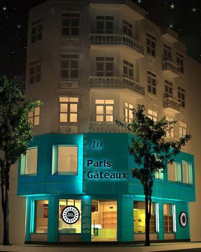 paris gateaux - cuisine francaise a hanoi