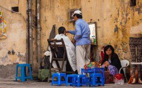 coffure dans la rue de hanoi