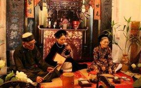 festival national de ca tru a hanoi