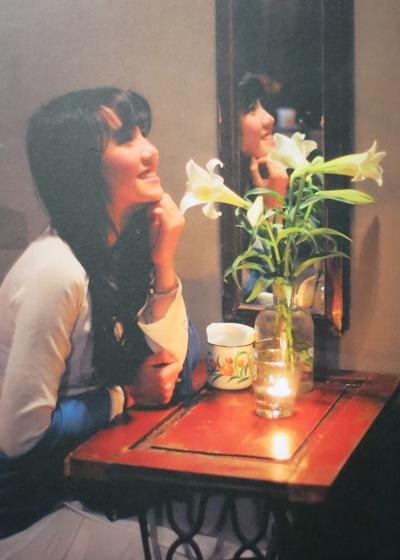 belle fille et fleur de lys blanc hanoi