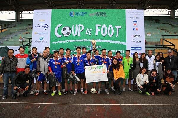 L'équipe France Alumni Vietnam - Vainqueur du tournoi