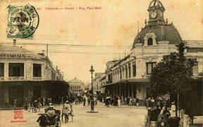 rue de paul bert a hanoi en 1920