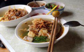 bol de soupe de banh da a hanoi