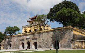 ancienne citadelle thang long a hanoi