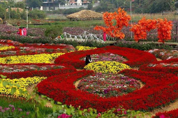 Un jardin d'horticulteur