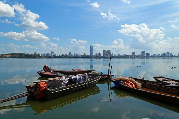 Lac de l'Ouest, Hanoi