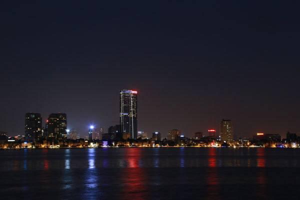 Lorsque la ville brille de ses lumières
