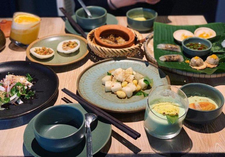 restaurant vegetarien hanoi