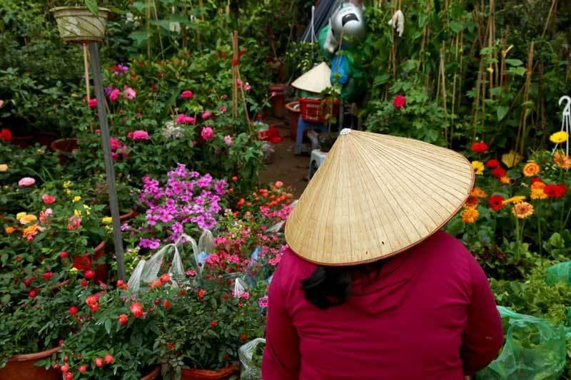 le march buo coul e verte et fleurie de hanoi le blog de hanoi. Black Bedroom Furniture Sets. Home Design Ideas