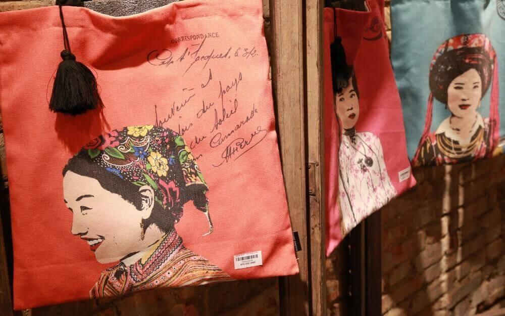 sacs originaux à l'effigie de certaines ethnies - Amica Travel