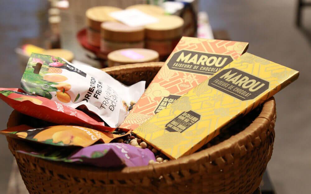 tablettes de chocolat Marou des Hauts Plateaux du Centre - Amica Travel