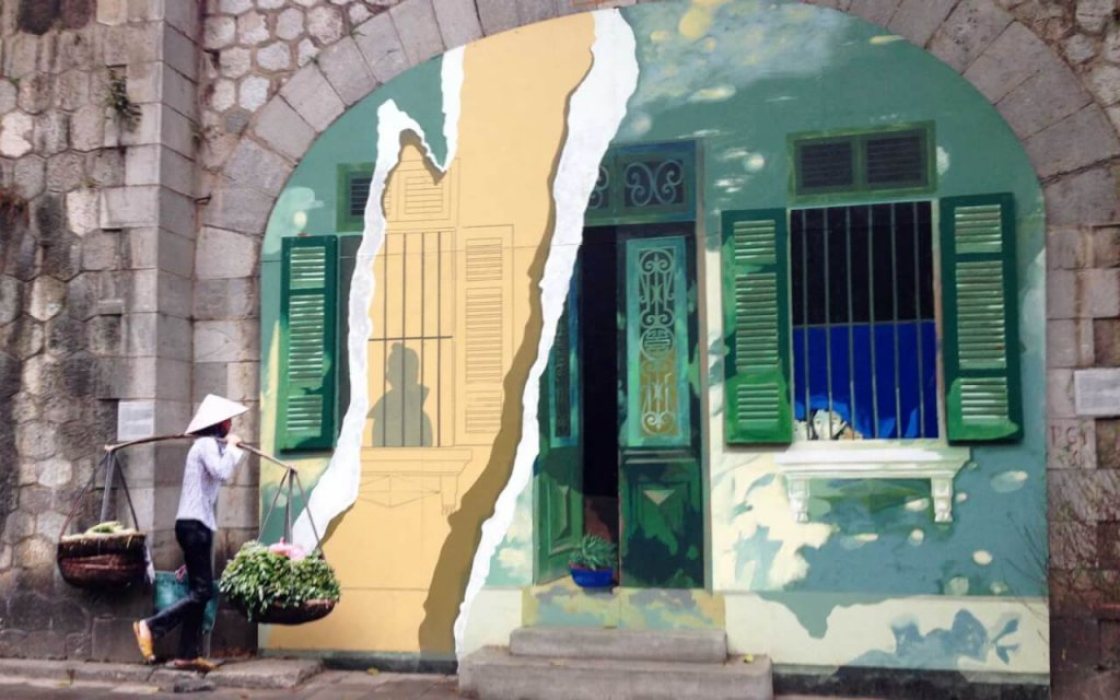 Ancienne maison d'Hanoi