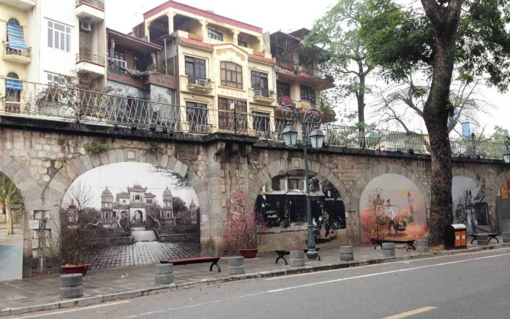 rues de fresques de phung hung
