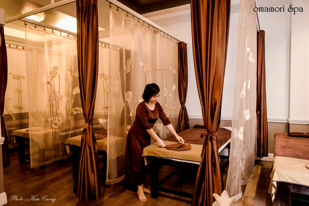 massage hanoi omamori spa